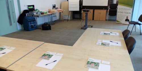 Bournville first aid training